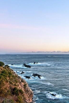Вид на океанські хвилі
