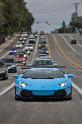 Либерти-холл Lamborghini Aventador