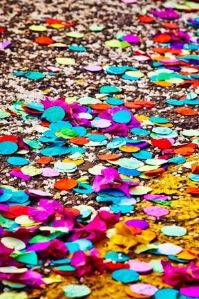 Colorful Confetti Paper