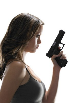 Hot Girl With A Gun