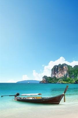 Beach Corner From Paradise