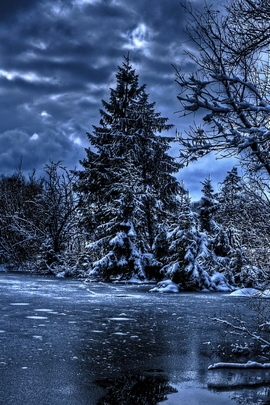 Winter HDr
