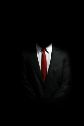 Mystery Man In Suit I
