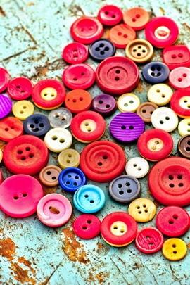 रंगीन बटन