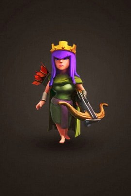 Clash Of Clan Archer Queen