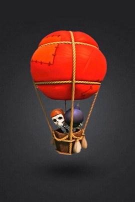 Clash Of Clan Balloon