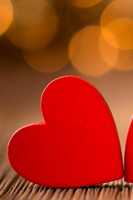 Red Little Hearts