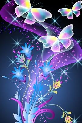 Квіти та метелики