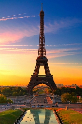 Sunset Effiel Tower
