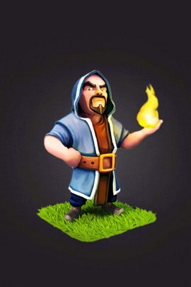 Clash Of Clan Wizard