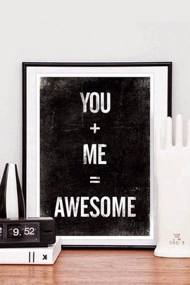 You And Me Will Be Awesome