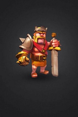 Clash Of Clan Barbarian King