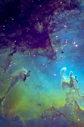 Fantasy Nebula Space