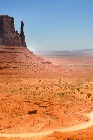 الصحراء الفارغة