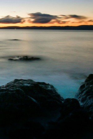 Sea Blur Image