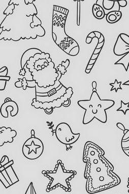 산타 바탕 화면
