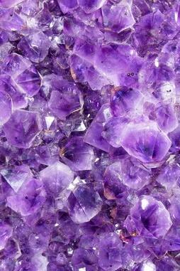 Glitters púrpuras