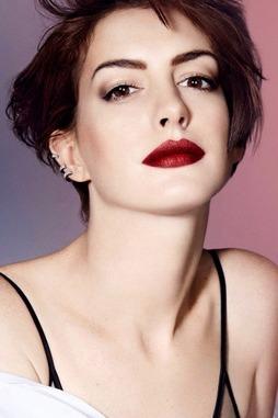 Anne Hathaway Elle November 2014