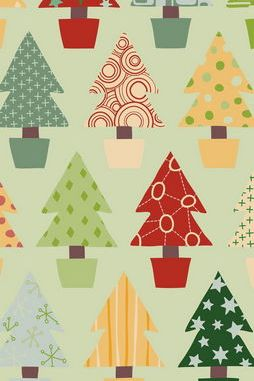 Christmas Trees Wallpaper