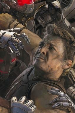 โปสเตอร์ Hawkeye Age Of Ultron