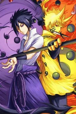 Naruto Sasuke Sharinnegan