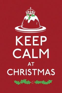 Keep Calm Christmas Poster