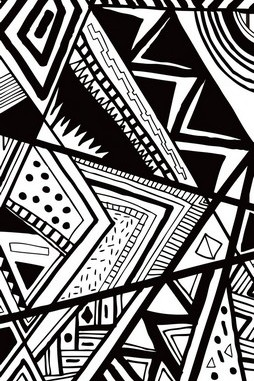 Black White Pattern