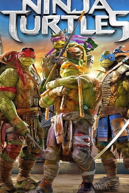 Teenage Mutant Ninja Turtles 2014 Blu Ray