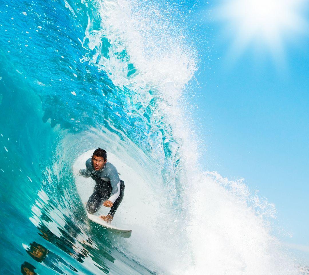 波の壁紙をサーフィン壁紙 Phonekyから携帯端末にダウンロード