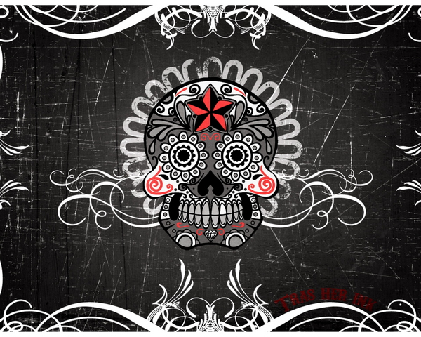 Mexican Skull Wallpaper Download To Your Mobile From Phoneky