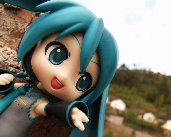 Mignon Hatsune Miku Figure Telephone Android Fonds D Ecran Fond D Ecran Telecharger Sur Votre Mobile Depuis Phoneky