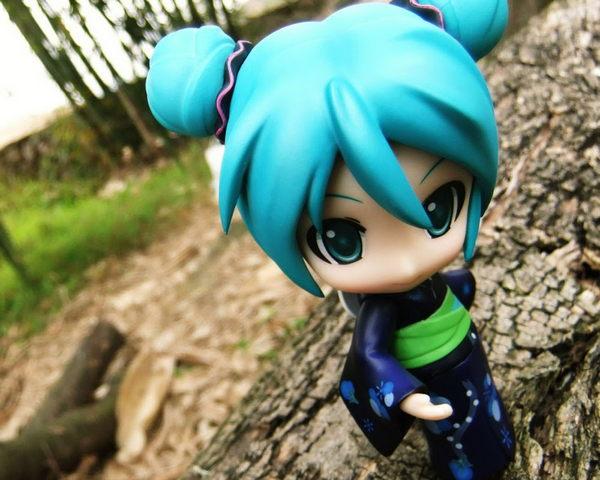 Carino Hatsune Miku Figure Sfondi Per Cellulari Android Sfondo