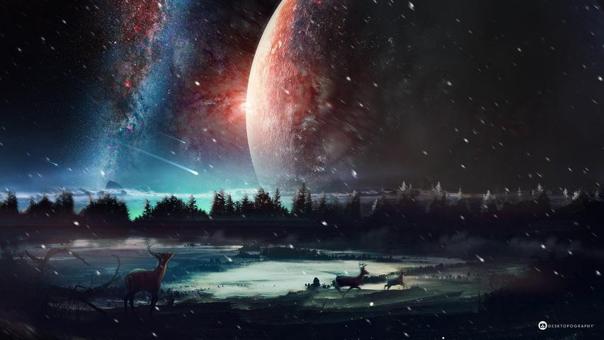 Universo Sfondo Scarica Sul Tuo Cellulare Da Phoneky