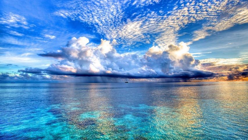 Lautan biru Wallpaper - Muat turun ke telefon bimbit anda dari PHONEKY