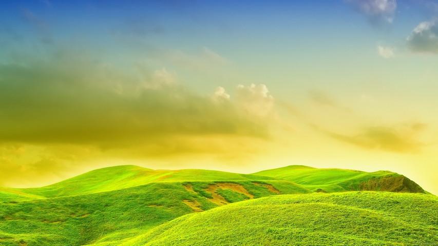 الأرض الخضراء الخلفية تحميل إلى هاتفك النقال من Phoneky