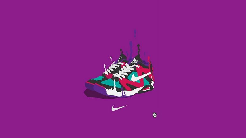 Nike Sneakers Art Sports Brand Fond d'écran Télécharger