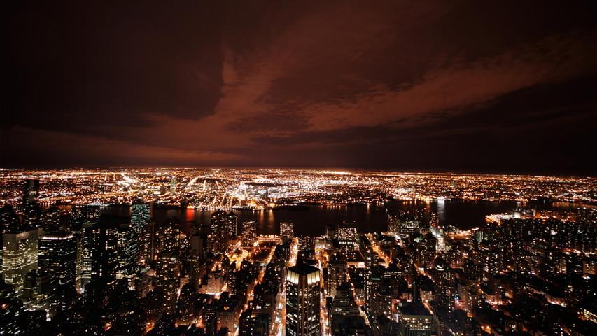 New York De Nuit Fond Décran Télécharger Sur Votre Mobile