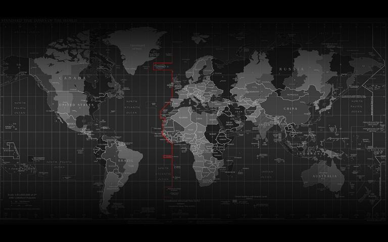 Mappa Del Mondo Con Fusi Orari Sfondo Scarica Sul Tuo Cellulare Da