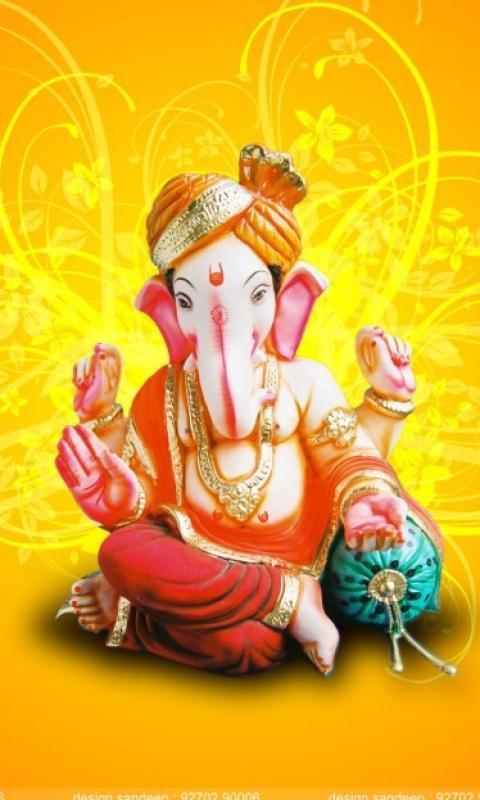 Ganpati Bappa Wallpaper Download To Your Mobile From Phoneky