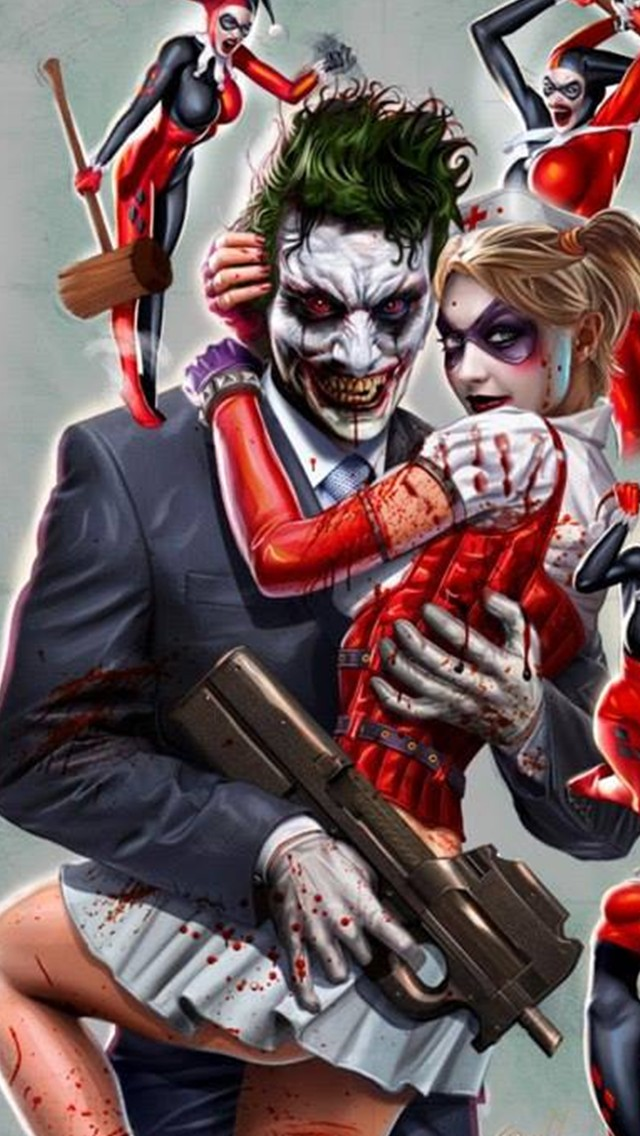 Joker And Harley Quinn Wallpaper Download To Your Mobile