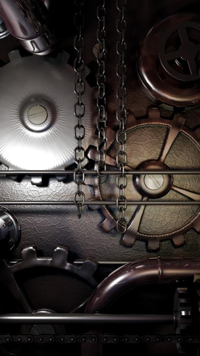 Macchina Degli Ingranaggi Sfondo Scarica Sul Tuo Cellulare Da Phoneky