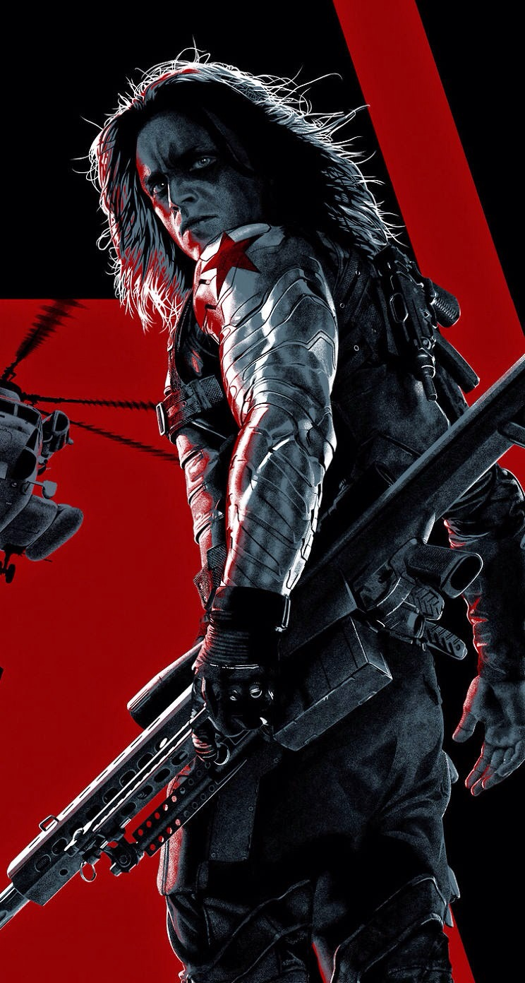 Bucky Barnes - Winter Soldier Wallpaper - Download to your