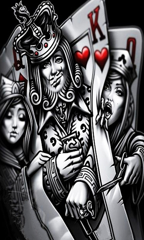 Poker King Card Wallpaper