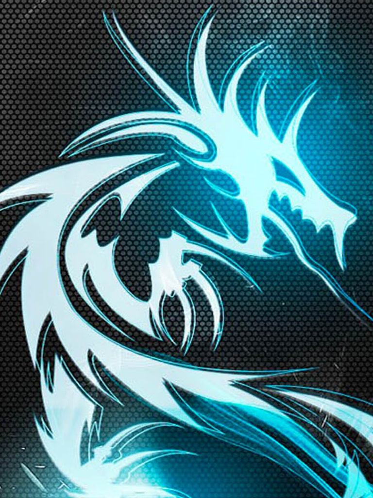 Drago Blu Sfondo Scarica Sul Tuo Cellulare Da Phoneky