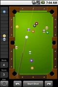 Touch Pool 2D Pool game