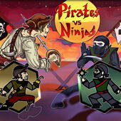 Pirates vs Ninjas Deluxe