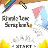 Simple Love Scrapbook Free