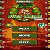 Bugs Circle-Christmas