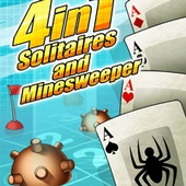 4 in 1: Solitaires and Minesweeper