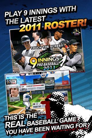 9 Innings Pro Baseball 2011 Android Juego APK (com.com2us ...
